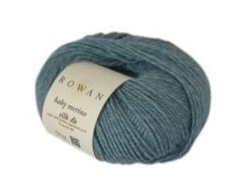 Rowan Baby Merino Silk DK made with merino superwash wool and tussah silk yarn 50g Ref 9802154