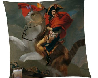 Beer Decor Pillow - Napoleon's Beer Charge