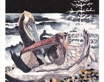 Winter Nocturne - Archival Print