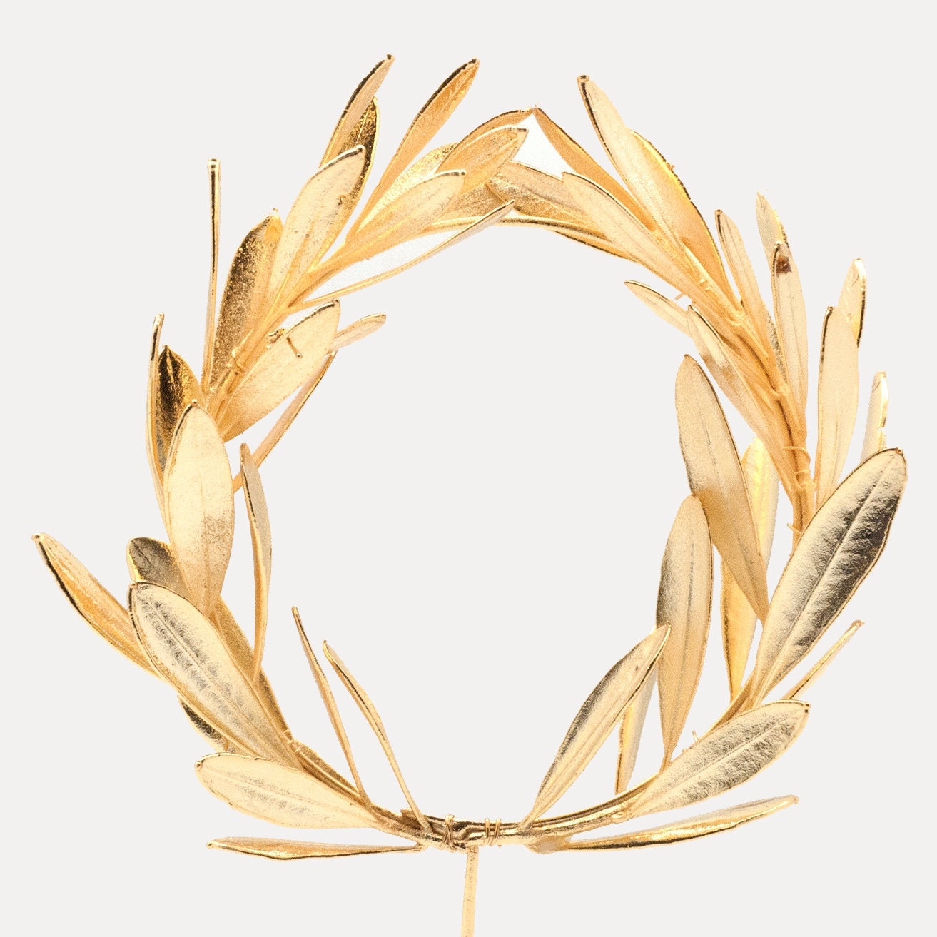 Greek Olive Tree Wreath Olive Tree Real Natural Branch Gold
