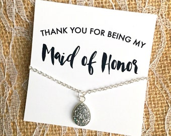 Maid of Honor Gift