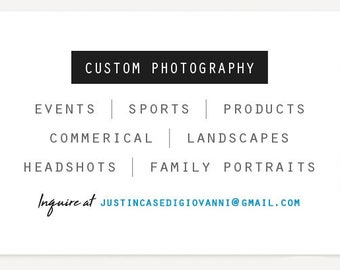 Freelance Photographer - Professional Photography Services / Events / Sports / Product / Commercial / Landscape / Headshots/Family Portraits