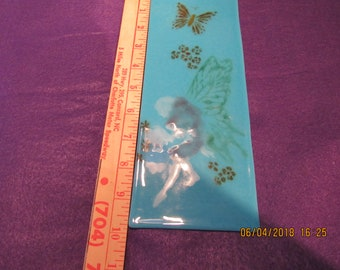 Fused glass fairy