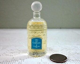 Vintage Guerlain Eau de Guerlain in  Bee Bottle, Paris - French Parfume - Full Miniature Bottle Guerlain - Vintage Guerlain - French Perfume