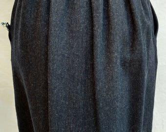 Blue wool skirt x Liz Claiborne, US 6