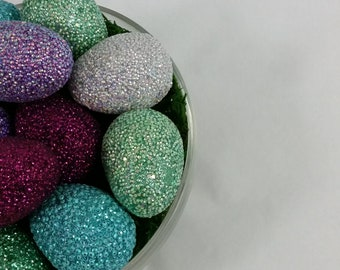 Colorful Easter Eggs (Left Perspective)
