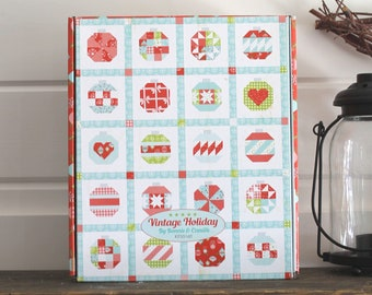 "Vintage Holiday Quilt Kit ~ Vintage Holiday by Bonnie & Camille for Moda 58"" x 72"""