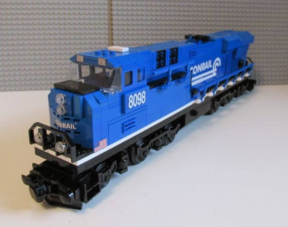 Custom Lego Train Conrail ES44ac