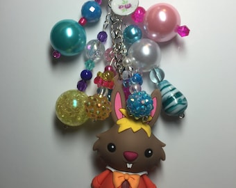March Hare purse/backpack/planner charm
