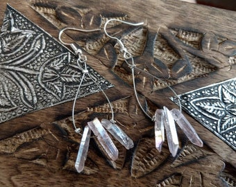 Boho Earrings with crystals
