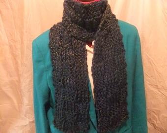 WINTER SCARF/Knit Scarf/Winter Scarf/Handmade Scarf