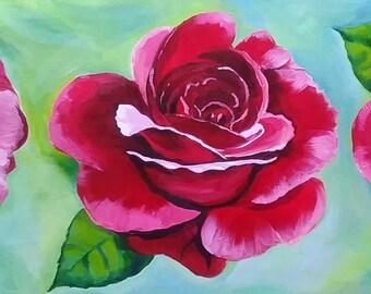 Tres Rosas (Digital print)