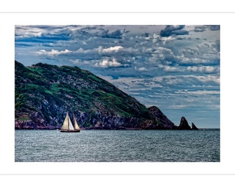 Out to Sea -- by James Ribniker -- Giclee on paper
