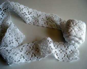 White Butterfly Lace