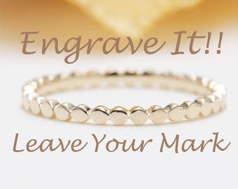 Custom & Unique Engraving!!! / Leave Your Mark /Get Your Jewelry Personalized