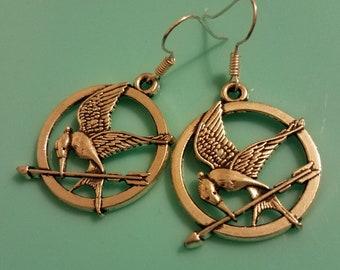 Mockingjay Dangle Earrings