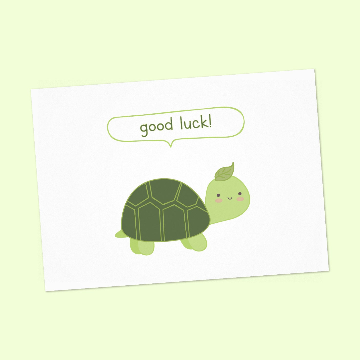 Good Luck cards printable good luck card good luck card with