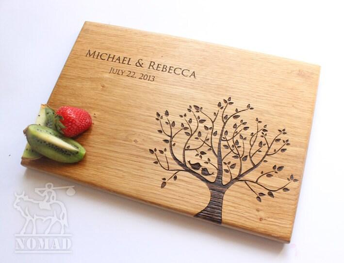 Wedding Gift Cutting Board: Personalized Cutting Board Wedding Gift Cutting Board Gift