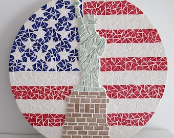 "Mosaic picture ""USA"
