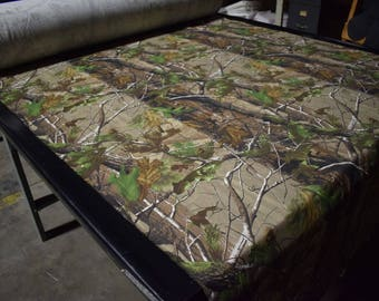 """Realtree AP Cotton Poly Blend Twill Camo Fabric 62"""" Wide By The Yard Camouflage  FR"""