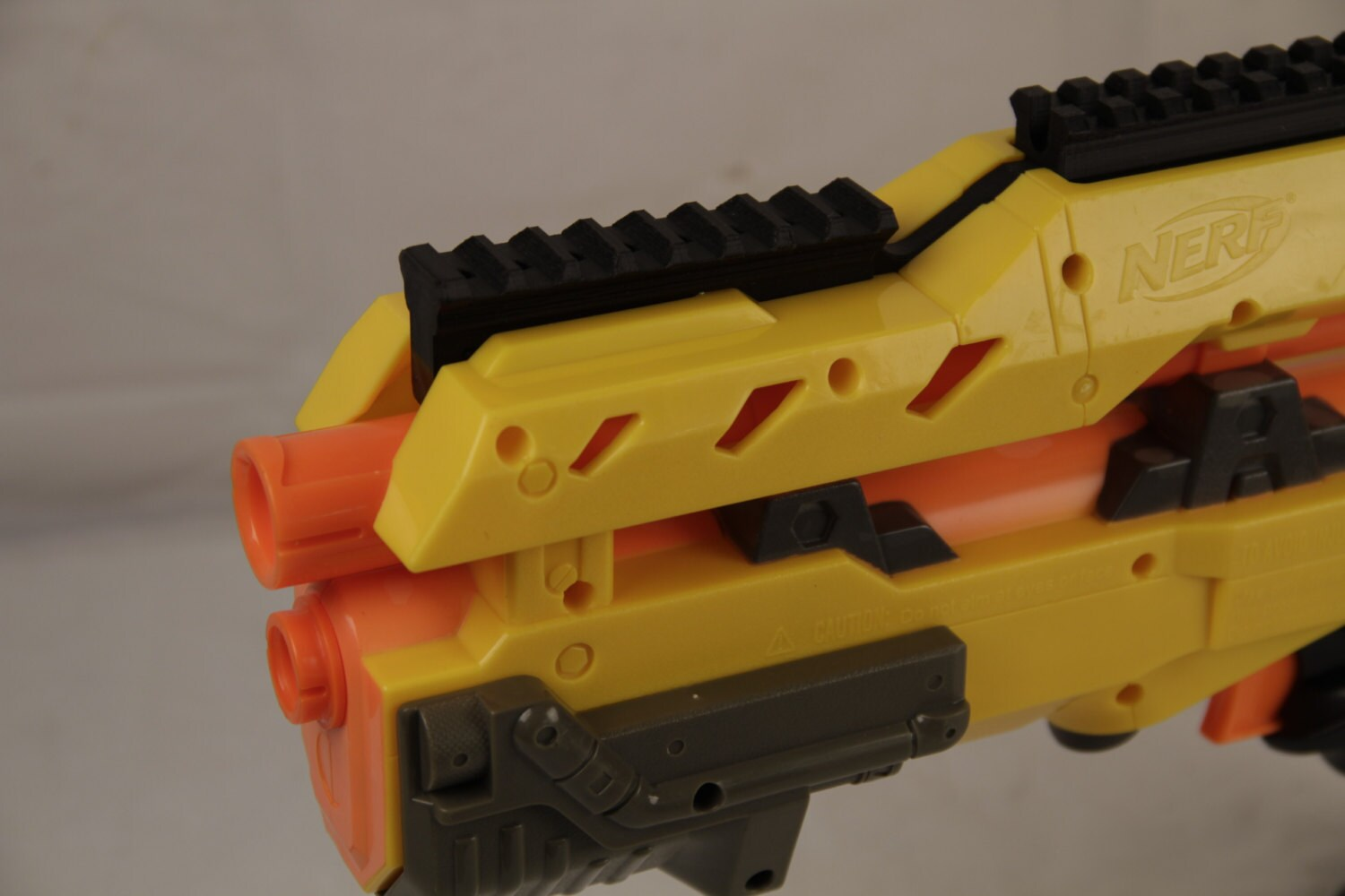 3D Printed Picatinny Front Sight Replacement for Nerf