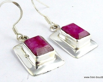 JEWELS in Ruby, ruby earrings Ruby Earrings, Ruby jewelry, natural gemstone jewelry, mb9.1