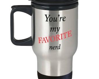 Cute Computer Science Travel Mug, Engineer Nerd Coffee Mugs, Software Gifts, Gift for Men / Women, Teacher,