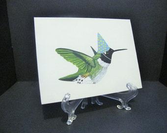 Hummingbird Art-Card (right facing)