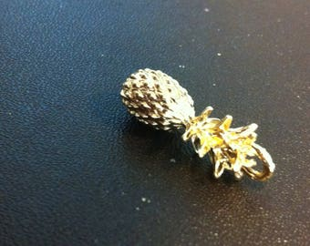 Pineapple gold golden 3D
