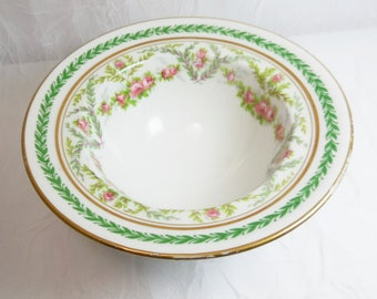Antique, Victorian Dessert Bowl, JPL Jean Pouyat, Limoges, France