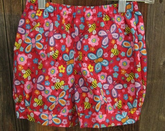 Child Bumble Bee Bloomer Shorts