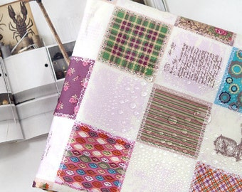 Laminated Cotton Fabric - Patches - By the Yard 90428
