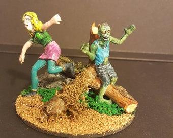 Zombie Apocalypse miniature diorama #5