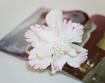 alice band white flower girl hair, Rim on the head, headband flowers for hair, Crown Tiara wedding flowers, flowers for weddings