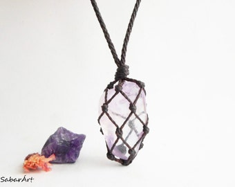 Amethyst necklace, amethyst pendant, amethyst necklaces, amethyst jewelry, chakra necklace, pisces birthstone, february birthstone, purple