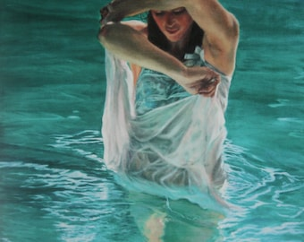 Turquoise Water - Limited Edition Giclee print