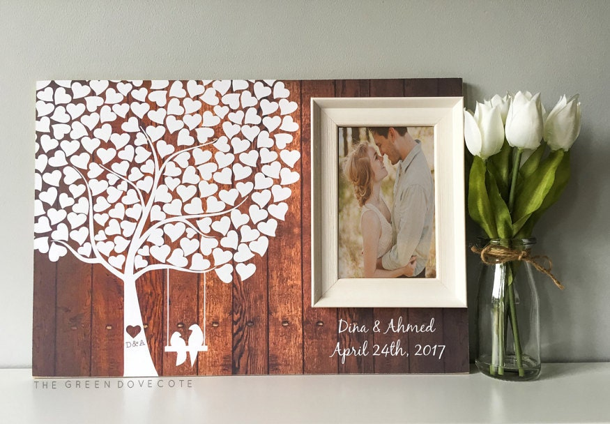 Wedding Tree Guest Book Wedding Guestbook Alternative