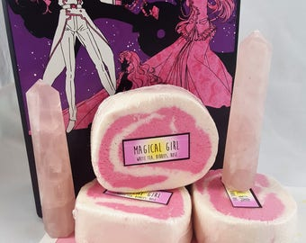 Magical Girl - 4 oz Handmade Bubble Bar - Solid Bubble Bath
