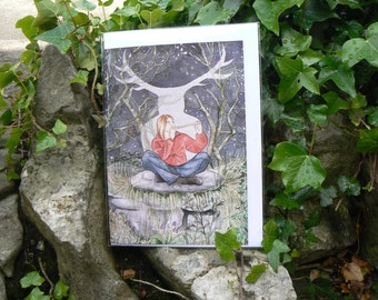 The Spirit of Herne Greetings Card