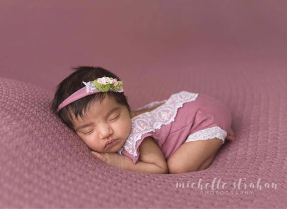 Abigail Newborn Romper