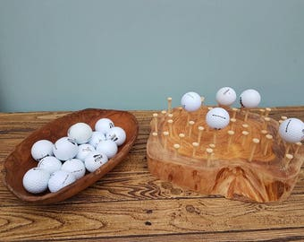 Finger gym - balancing golf balls on tees
