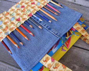 Kid bag sewing pattern DIY Coloring Bag tutorial PDF download ePattern