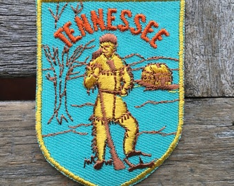 Tennesse Vintage Souvenir Travel Patch from Voyager - New In Original Package