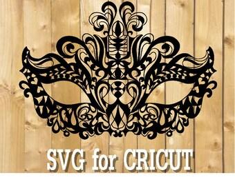 Lace mask mandala svg / zentangle mask svg / intricate svg file / cricut design svg / zentangle for cricut / mask for cricut / venice