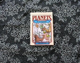 Planets In Synastry By E.W. Neville. Vintage Astrology Birth Chart Relationship Divination Esoteric New Age Metaphysical Book.