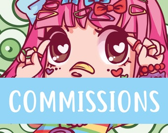 CHIBI COMMISSIONS | Digital and Traditional | Contact me before