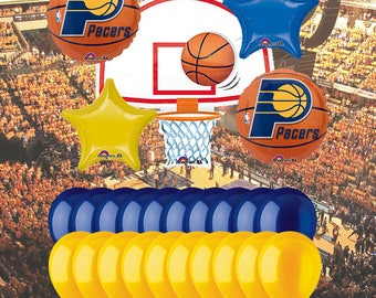 Indiana Pacers 25 Piece Balloon Set