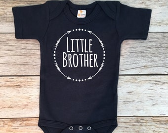 Baby Boy Clothes Little Brother Shirt Little Brother Bodysuit Pregnancy Announcement Little Brother Announcement Shirt Little Brother