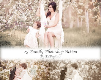 25 Photoshop Actions for Family Photographers