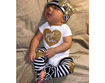 Baby Girl, coming home outfit, take home outfit, baby clothes, baby girl clothes, baby girl outfit, newborn outfit, girl, newborn clothes